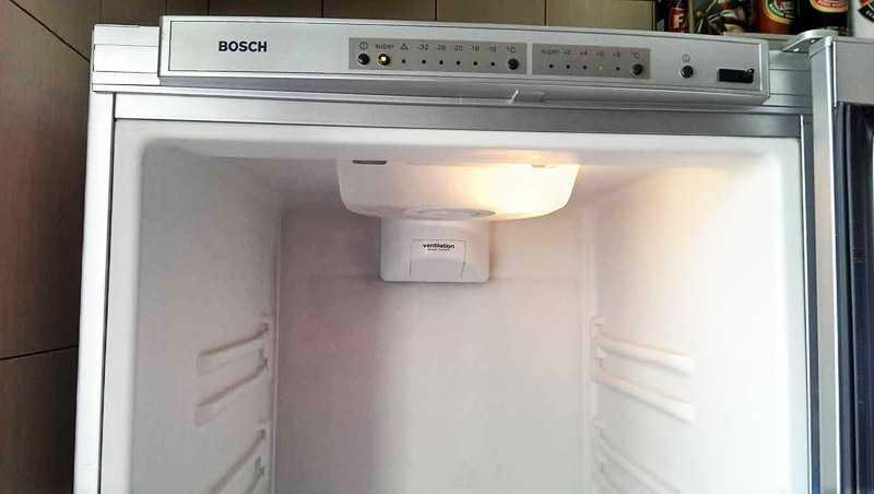 Звуковой сигнал в холодильнике Bosch No Frost