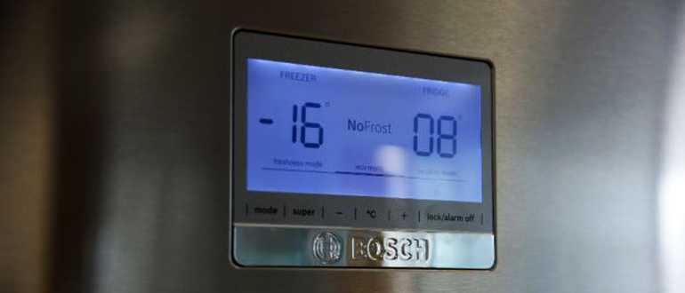 Почему горит Аlarm off на холодильнике Bosch