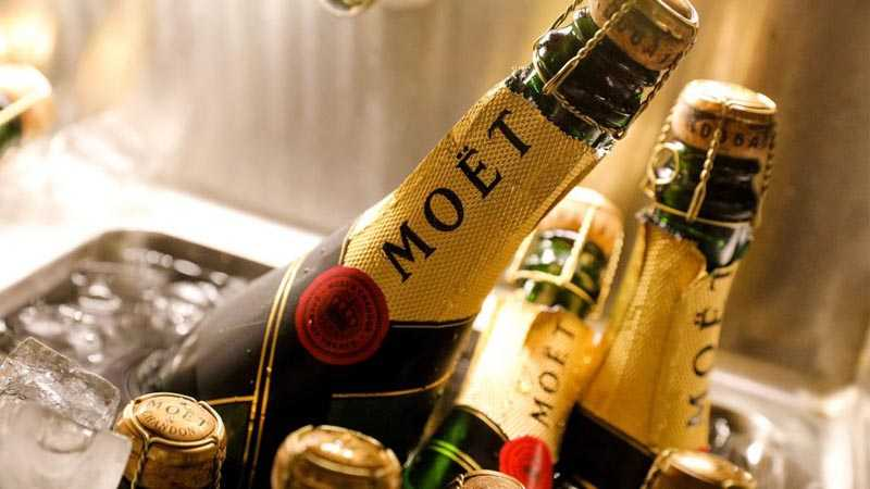 Правила хранения шампанского