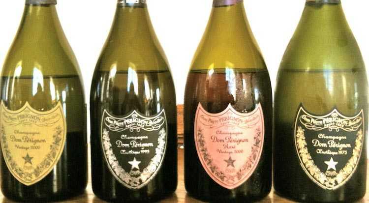 Хранение эксклюзивных сортов шампанского