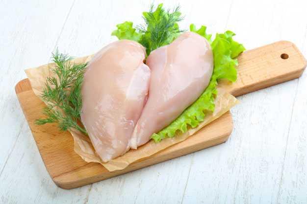 Как долго хранится сырая куриная грудка
