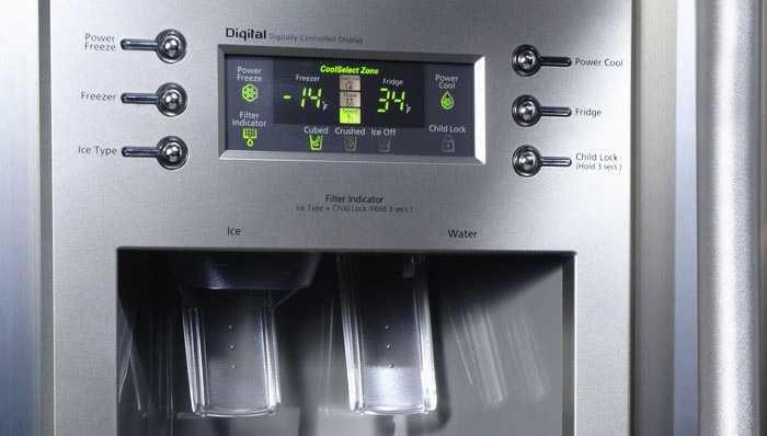 Значение условных сигналов холодильника
