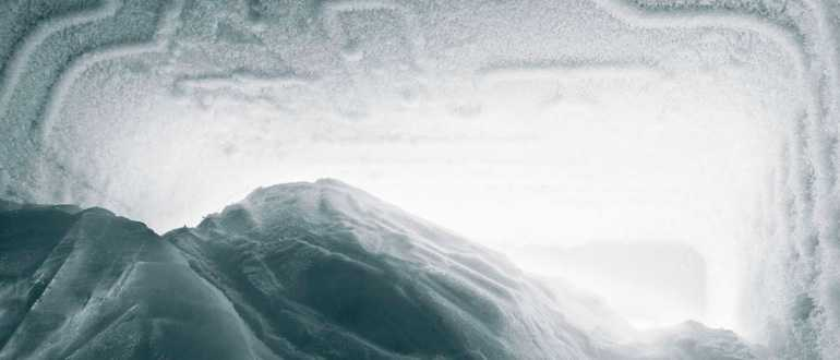 О намерзании льда в морозильной камере