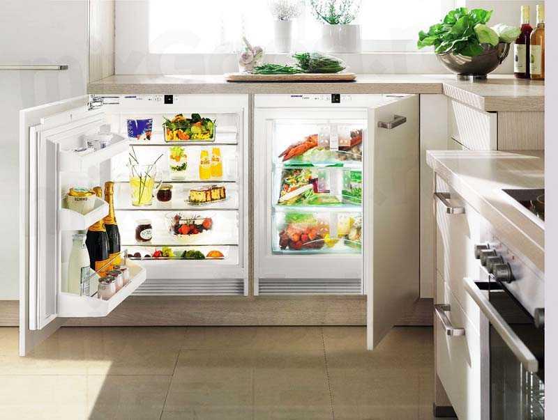 Плюсы и минусы встраивания холодильника