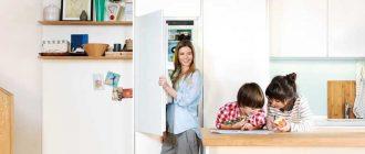 Как правильно встроить холодильник в кухонный гарнитур для экономии места