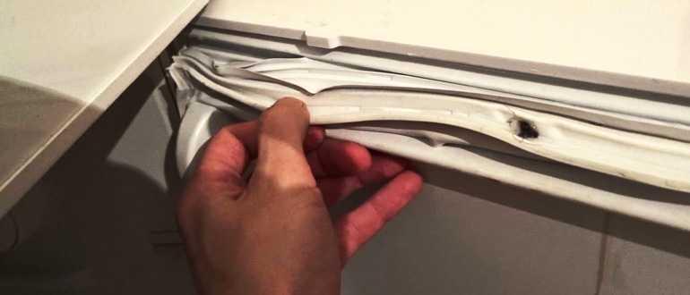 Как поменять уплотнительную резинку на холодильнике в домашних условиях