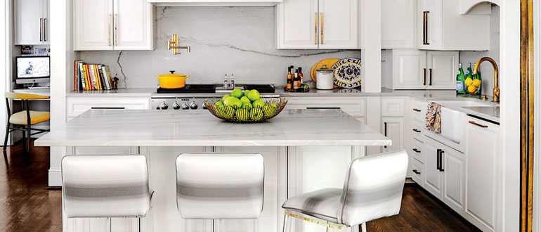 Дизайн кухни 6 кв метров в хрущевке с холодильником