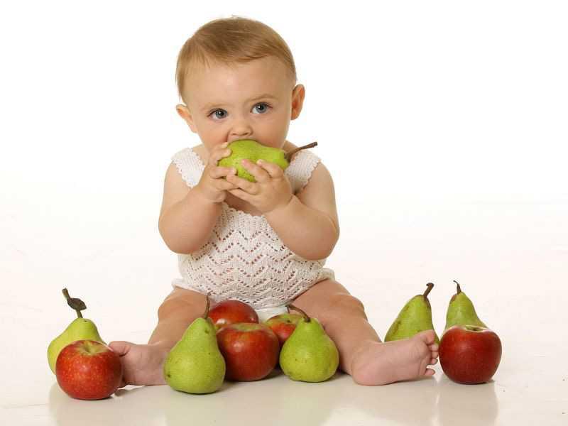 Хранение груш для детей