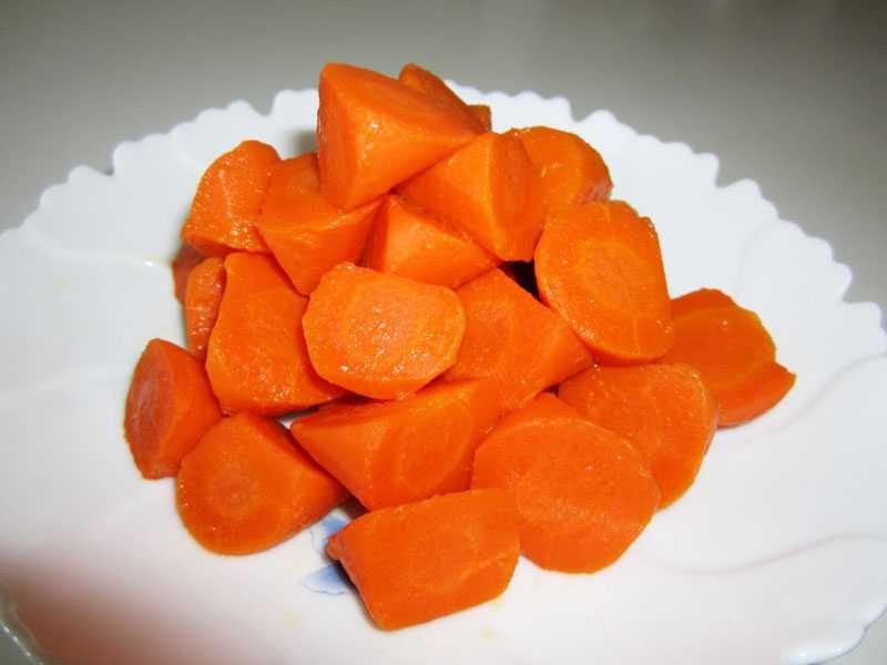 Сроки хранения варёной моркови