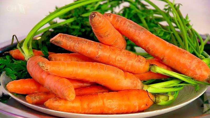Хранение моркови в холодильнике