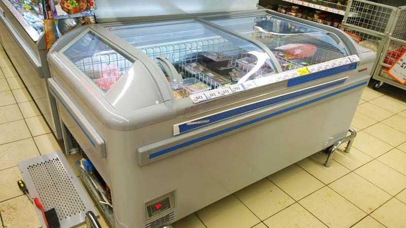 Эксплуатация и обслуживание морозильного ларя