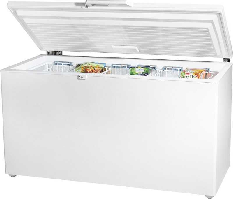 Чем морозильный ларь отличается от холодильника