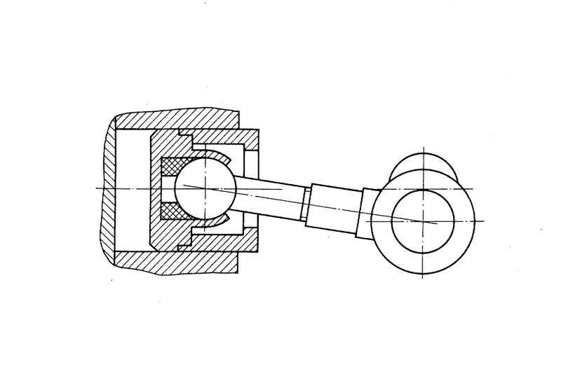 Схема кривошипно-шатунного компрессора