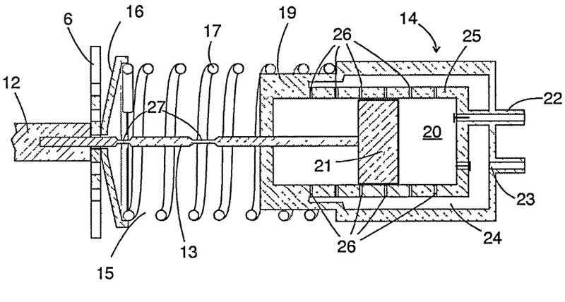 Схема линейного компрессора