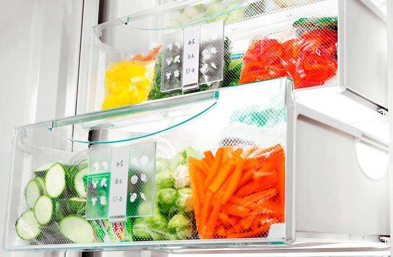 Зона свежести в современных холодильниках