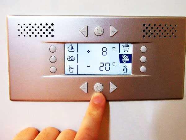 Регулирование температуры холодильника