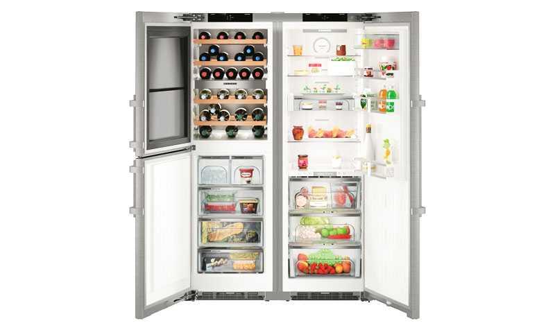 Виды бытовых холодильников