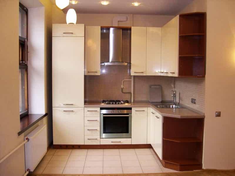 Дизайн кухни без холодильника