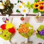 Собственноручные украшения для холодильника на Новый Год
