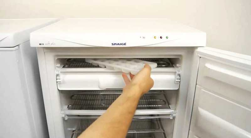 Использование мини-морозилки