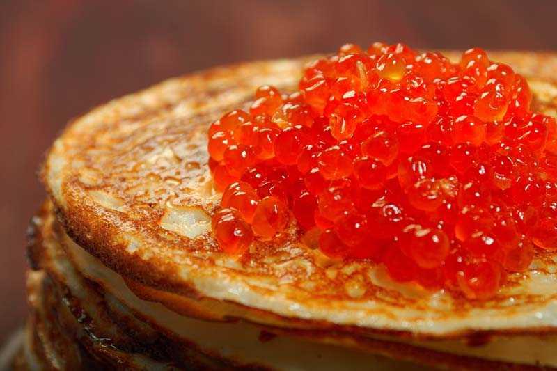 Употребление красной икры в пищу