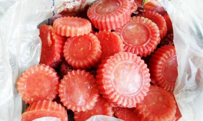 Правила разморозки помидоров
