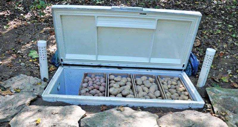 Использование ненужного холодильника