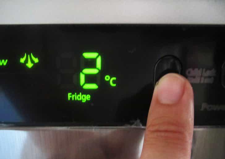 Несоблюдение температурного режима холодильника