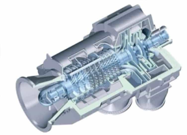Осевая конструкция линейного компрессора