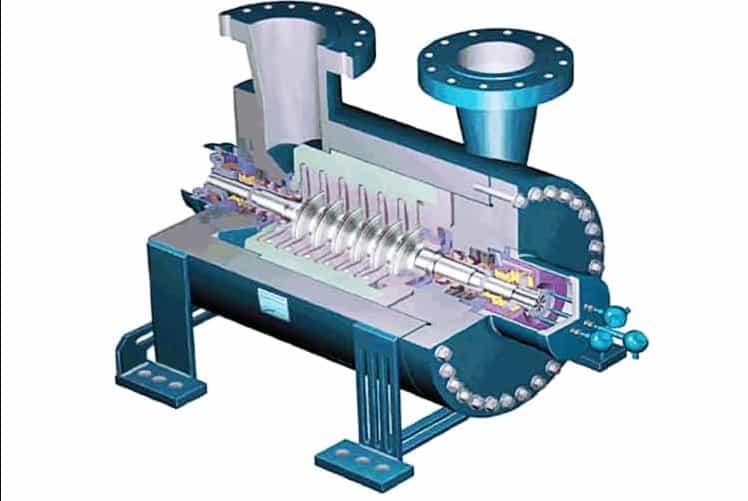 Центробежная конструкция линейного компрессора
