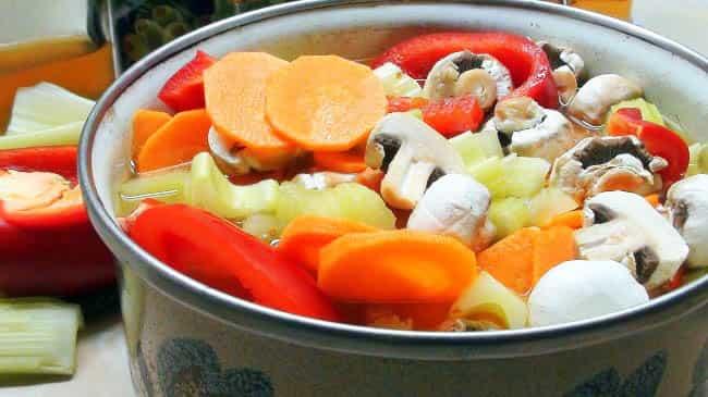 Хранение овощей в варёном виде