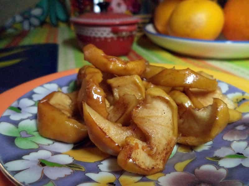 Заготовка яблочной начинки