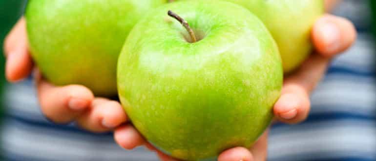 Как заморозить яблоки на зиму в морозильной камере