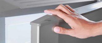 Как поменять повреждённый уплотнитель на дверце холодильника