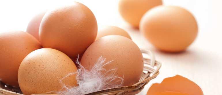 Срок годности различных видов яиц в бытовом холодильнике в зависимости от условий хранения