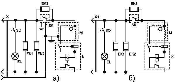 Электросхема трёхкамерного холодильника Nord 226