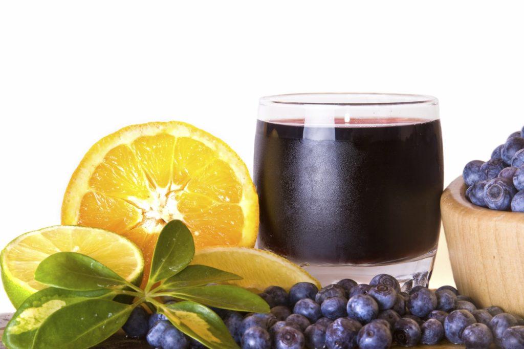 Заготовка черничного сока на зиму