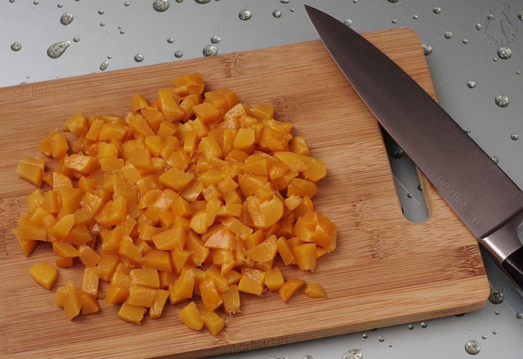 Заготовка бланшированных персиков на зиму
