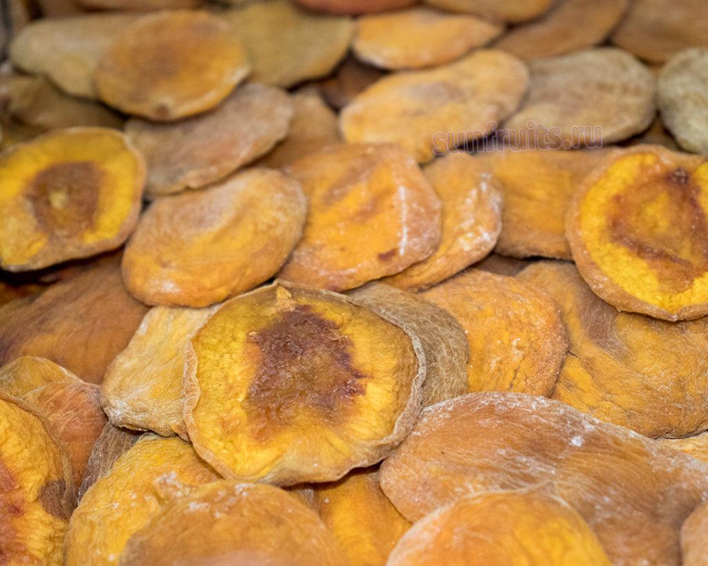 Заготовка вяленых персиков