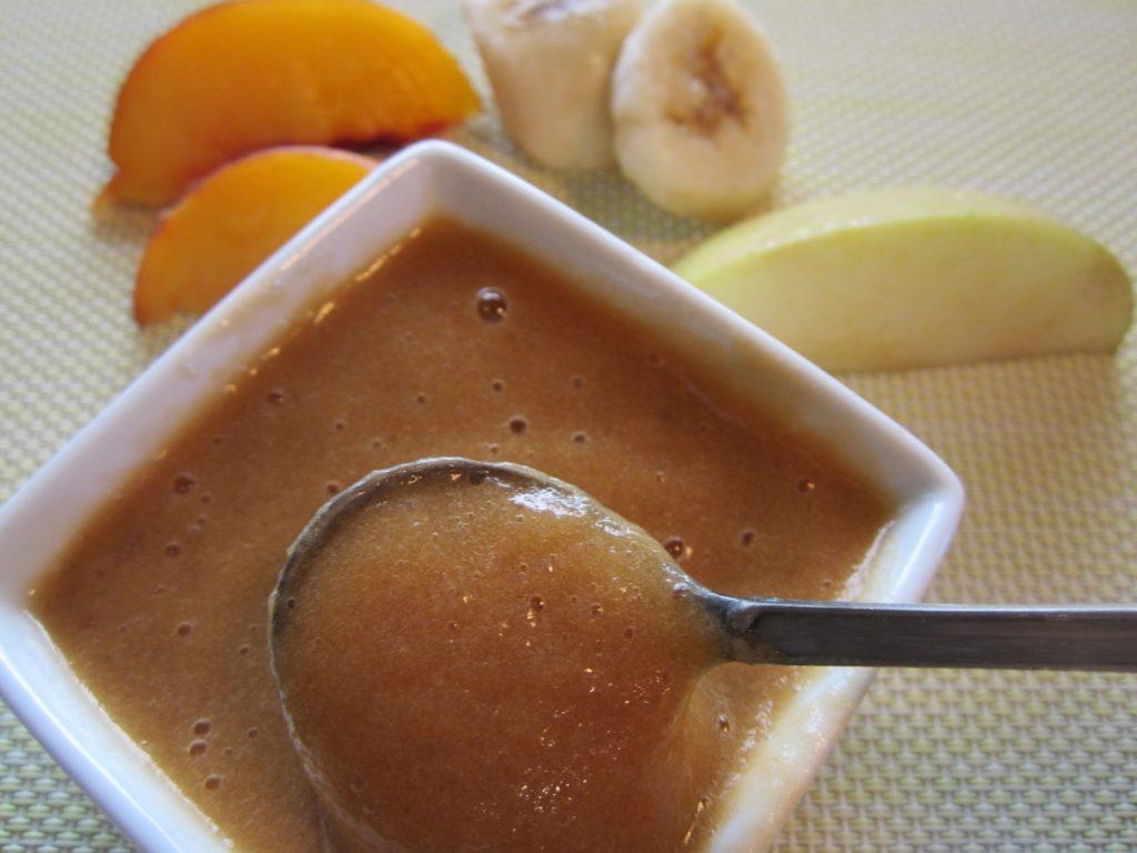 Заготовка пюре из персиков