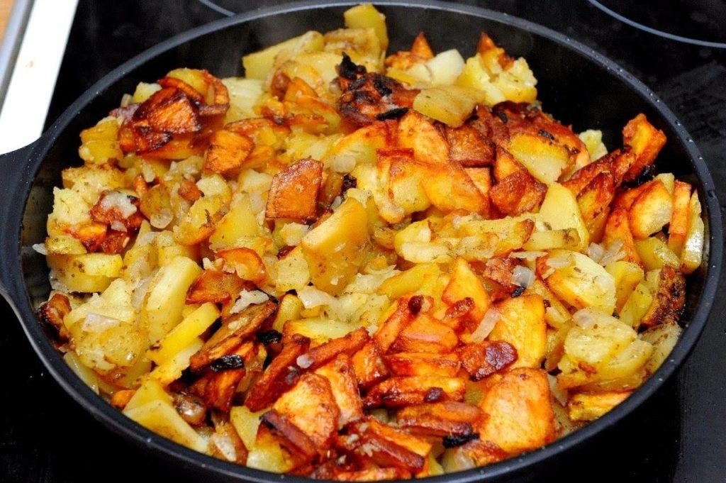 Можно ли в холодильнике хранить жареный картофель