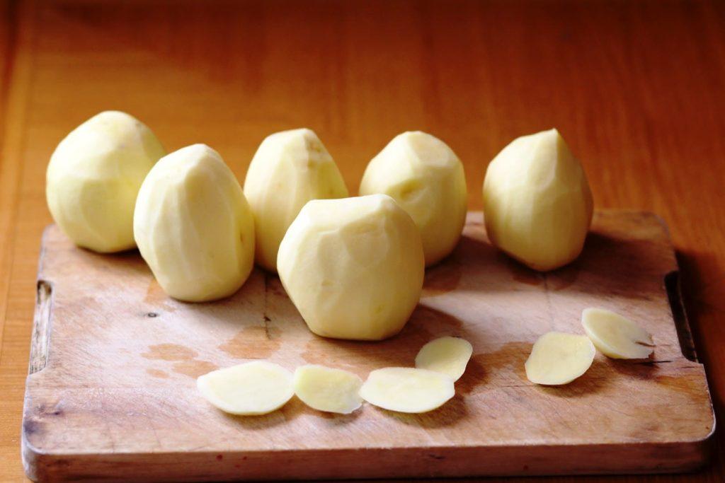 Хранение очищенного картофеля в холодильнике