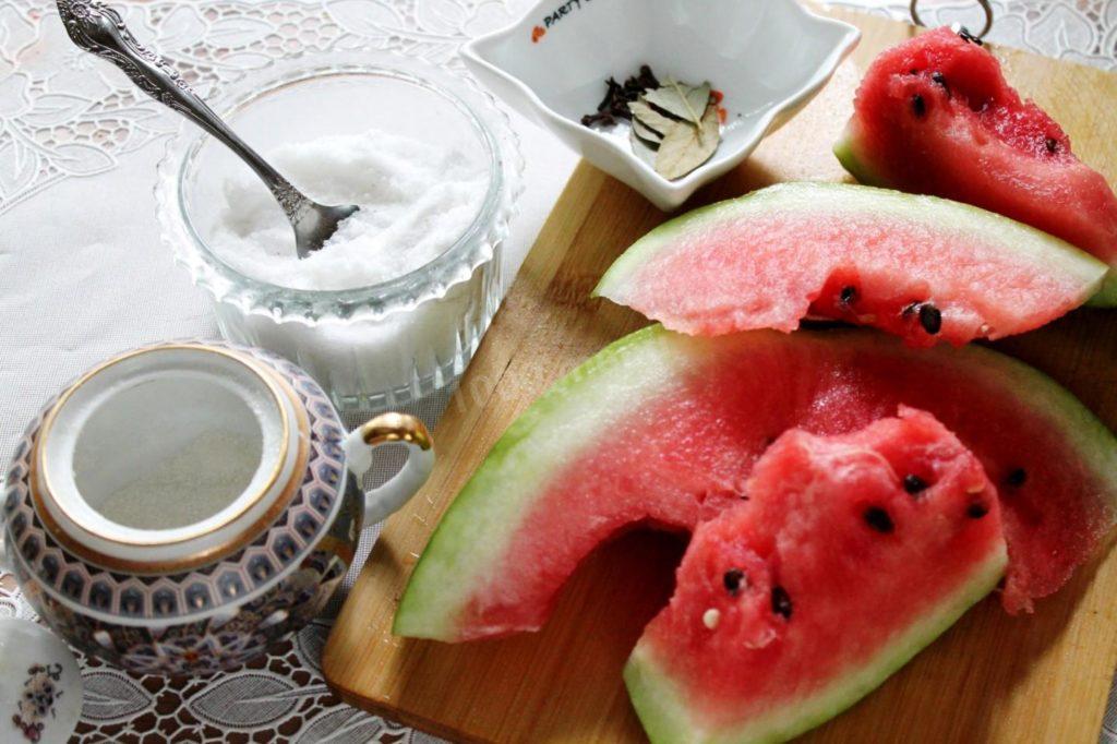 Как заморозить арбуз с сахаром