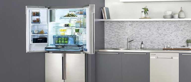 Как правильно установить бытовой холодильник на кухне