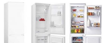 Классификация бытовых холодильников и их основных характеристик