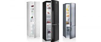 Холодильник шириной 50 см