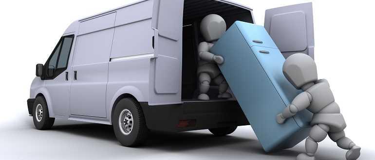 Как правильно перевозить холодильник лежа на дальние расстояния боком, можно ли это при перевозке или нельзя