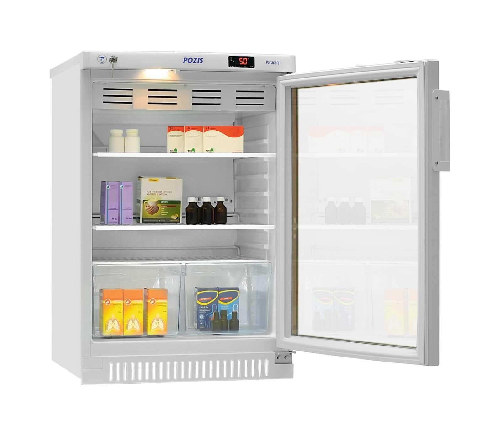 Фармацевтический холодильник Pozis 140-ХФ