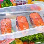 семга в холодильнике