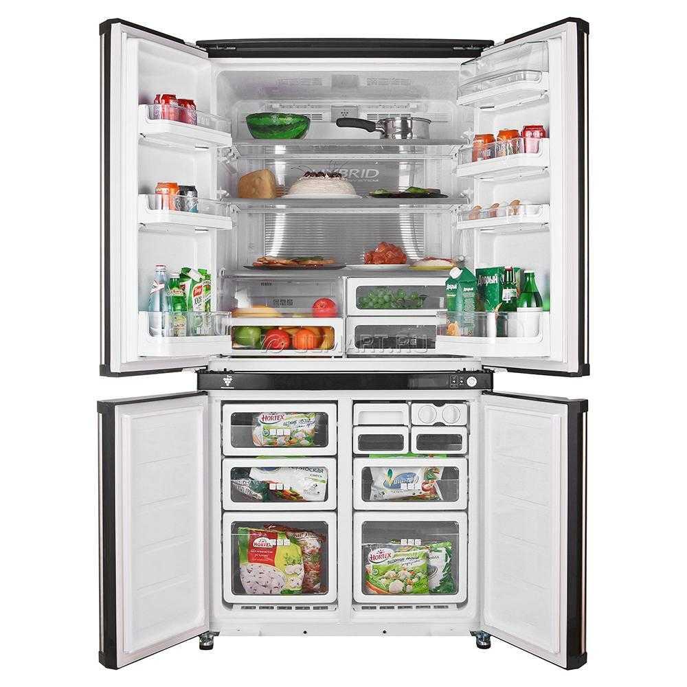 Бытовой холодильник SHARP SJ-F96SPBK